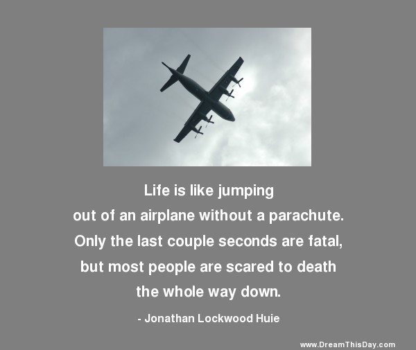 Life Is Like Quotes Funny: Inspirational Quotes About Airplane