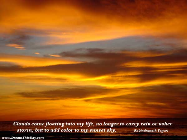 Sunset Quotes - Inspirational Quotes about Sunset